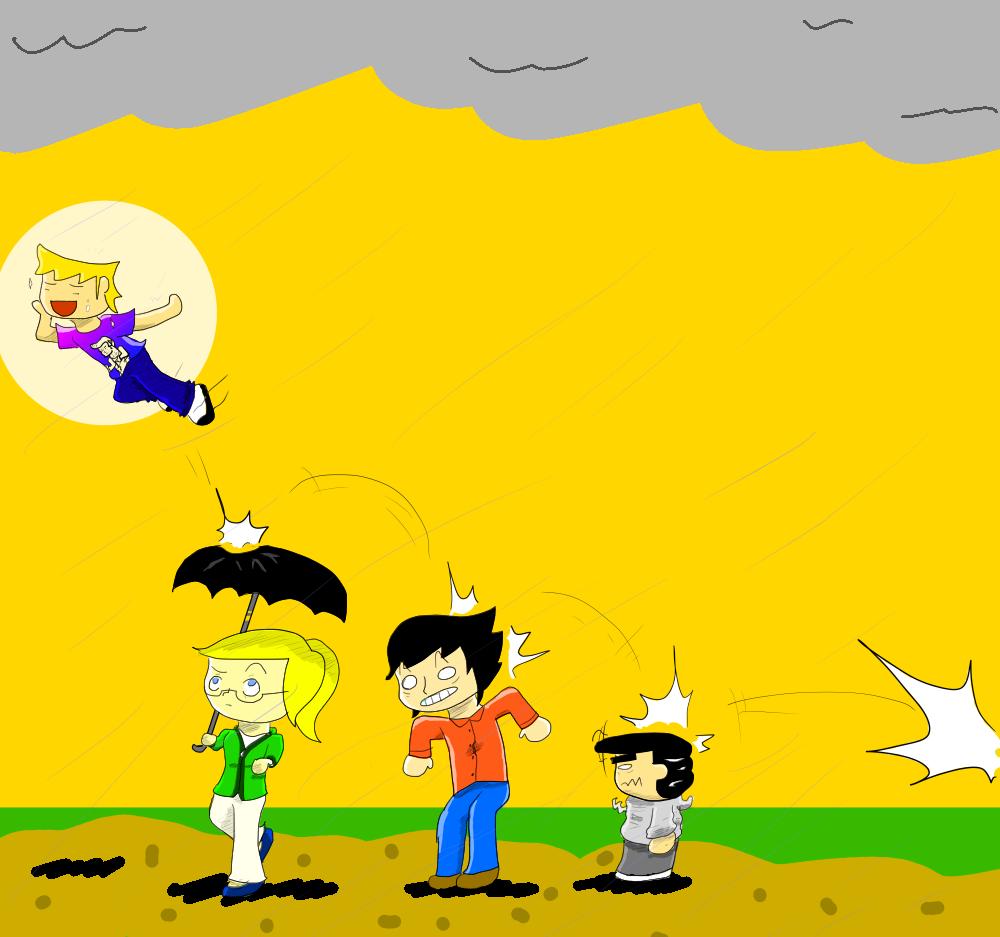 Rain bounce